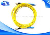 Китай 3 метра ФК/режим СК гибкий провод одиночного, симплексные кабель оптического волокна для ЛАН/БОЛЕЗНЕННЫЙ завод