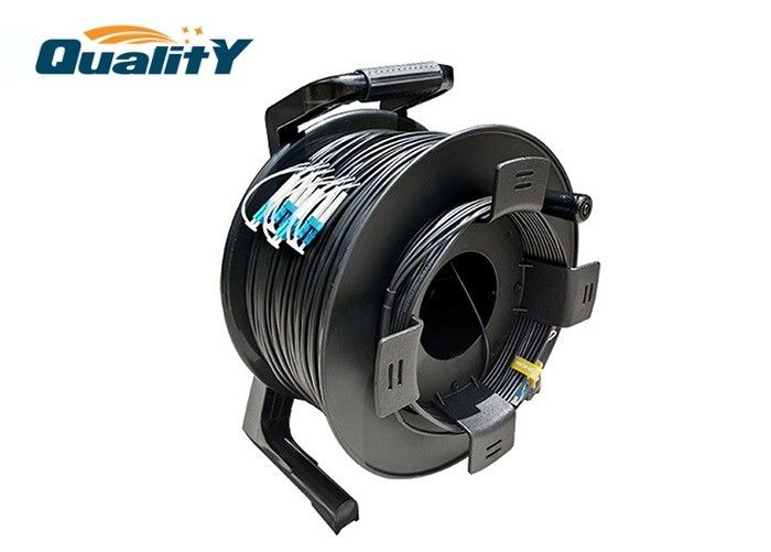 Flexible Plastic Armored Cable Reel To Protect Single Mode Optical Fiber Cable